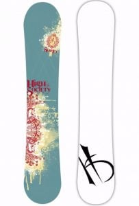 High Society Women's Scarlet Snowboard Review