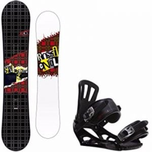 Rossignol Contrast Youth Snowboard with Rossignol Battle V1 Bindings Review