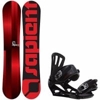 Sapient Fader Youth Snowboard with Rossignol Battle V1 Bindings Review