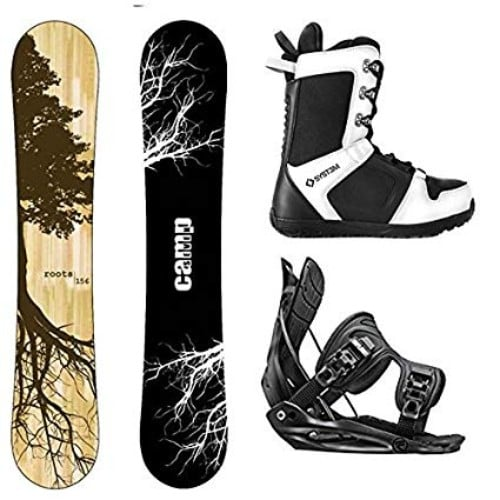 Camp Seven 2019 Roots CRC Snowboard and Flow Alpha MTN Men's Snowboard Bindings Review