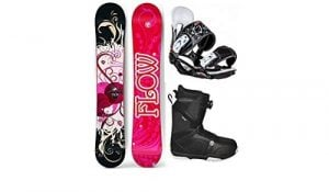 Flow 2018 Tula Women's Complete Snowboard Package Head Bindings BOA Boots Review