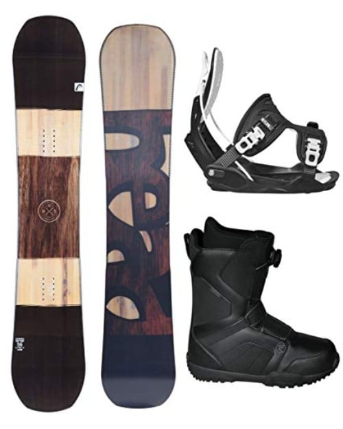 Head 2018 Daymaker Men's Snowboard Package with Bindings and BOA Boots Review