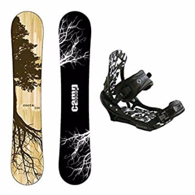 Camp Seven 2017 Roots CRC Snowboard with Men's APX Bindings Review