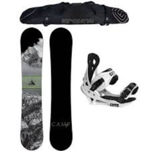 Camp Seven 2017 Valdez Snowboard and Men's Summit Bindings Review