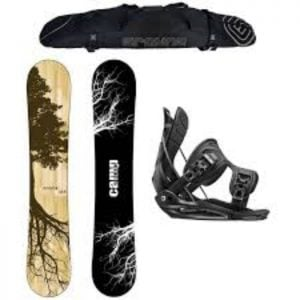 Camp Seven Root CRC and 2017 Flow Alpha MTN Men's Snowboard Package Review