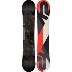 K2 2017 Standard Men's Snowboard Review