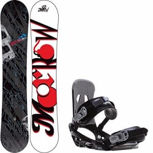 Morrow Fury Men's Snowboard with Sapient Stash Bindings Review