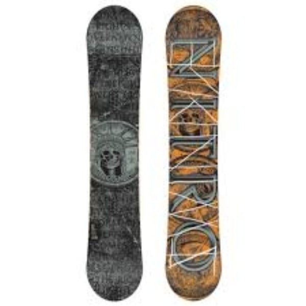 Nitro Swindle Men's Snowboard Review