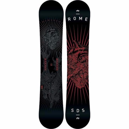 Rome Garage Rocker Men's Snowboard Review