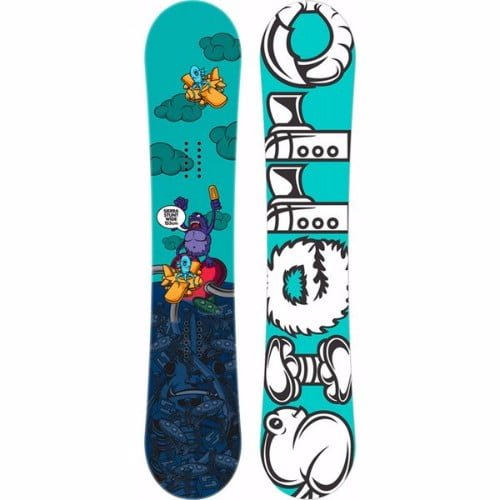 Sierra Stunt Wide Men's Snowboard with Sapient Stash White Bindings Review