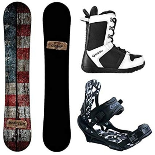 Camp Seven 2019 Drifter Men's Snowboard and APX Bindings Review