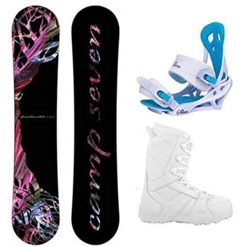 e014f000aae Camp Seven 2019 Featherlite Women s Complete Snowboard Package Image