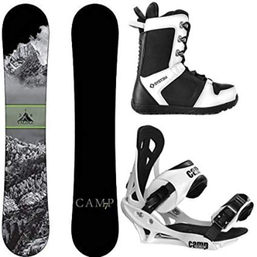 Camp Seven 2019 Valdez Snowboard and APX Bindings Men's Snowboard Package Review