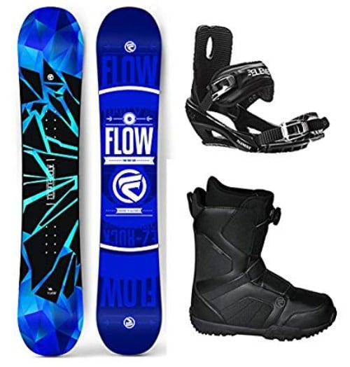 Flow 2019 Burst Men's Snowboard Review