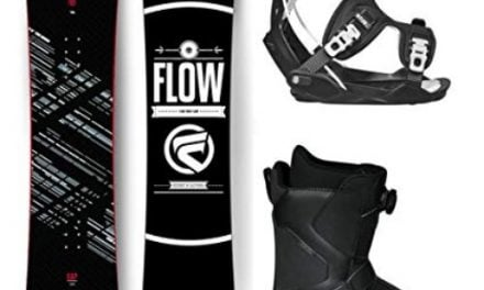 Flow 2019 Gap Men's Complete Snowboard Package Bindings and BOA Boots Review