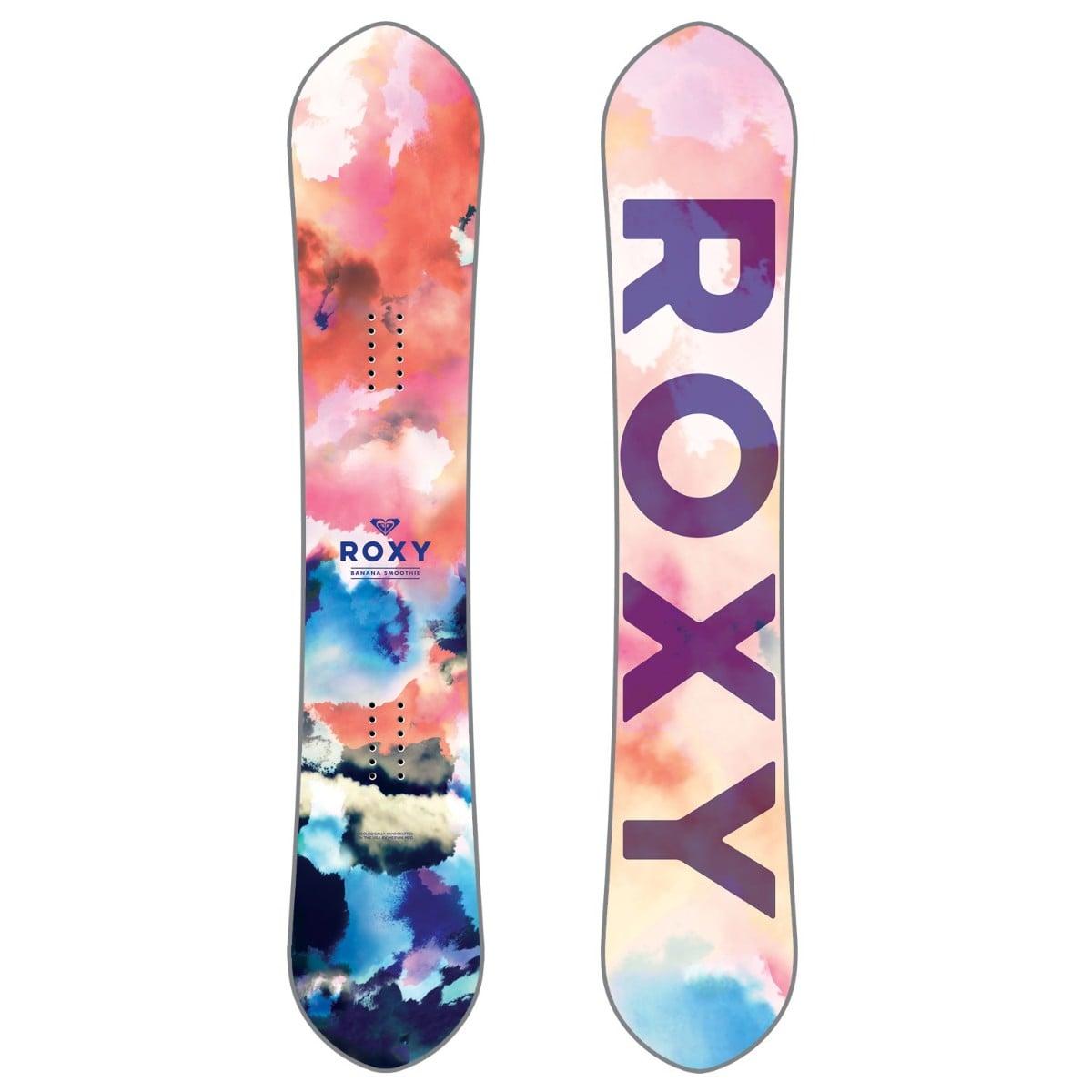 Roxy 2018 Banana Smoothie C2e Women's Snowboard Review