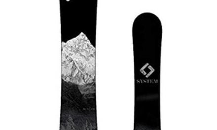 System 2019 MTN CRCX Men's Snowboard Review